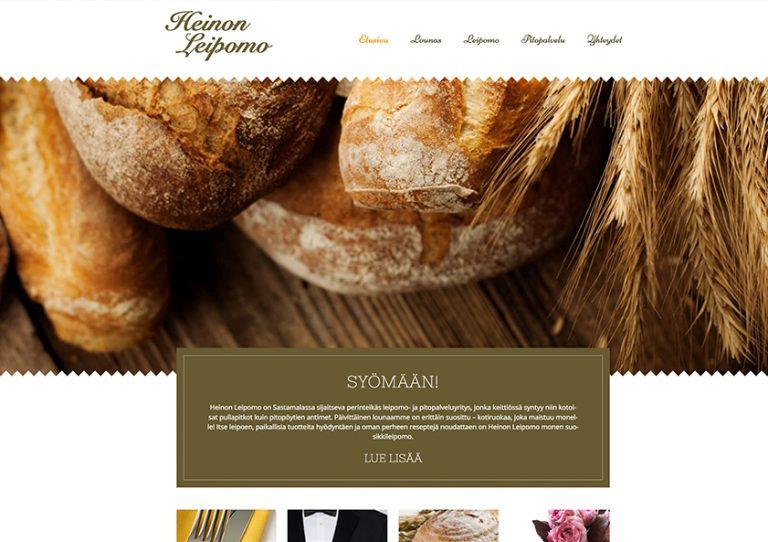 heinon-leipomo-webtalo