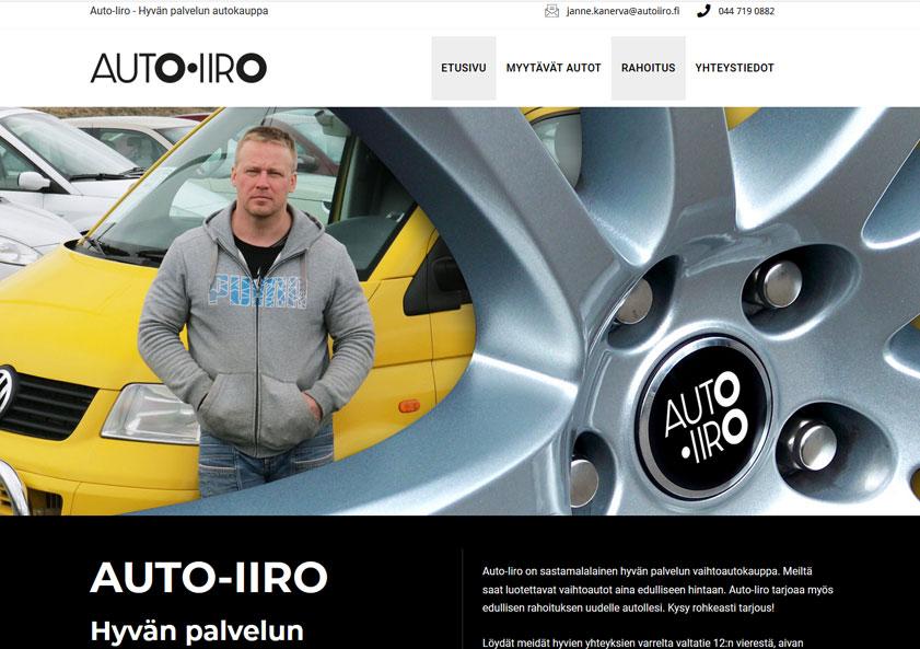autoiiro-nettisivut-kotisivut-verkkosivut-internet-sivut