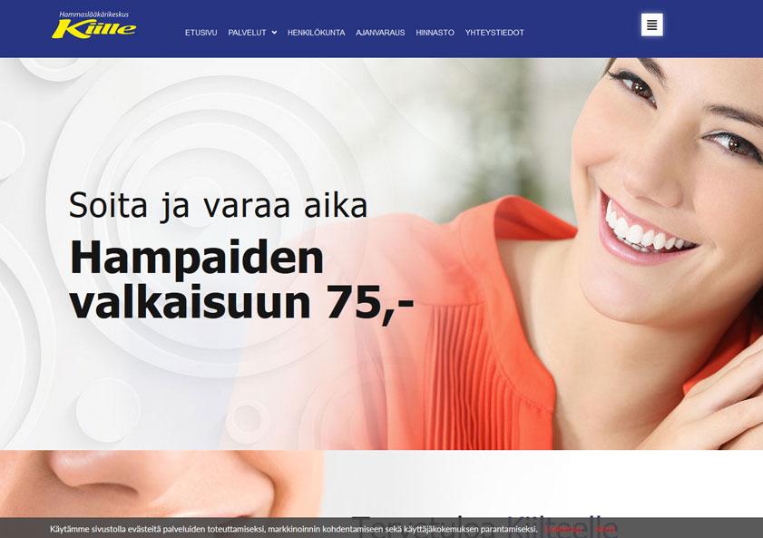 hammaslaakarikeskus-kiille-sastamala-nettisivut-kotisivut-verkkosivut-internet-sivut-3